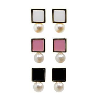 Pastel Mini Earrings TRIO set