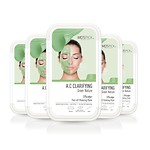 MD'S PIC SKIN PEEL-OFF MASK GREEN 5SET