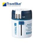 2 USB SLIDING ADAPTOR - WW BLUE