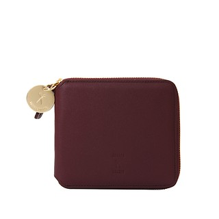 #Cabernet Wine / OZ Round Zip Wallet Slim