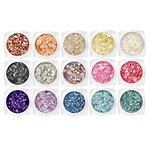 MOTHER OF PEARL GLITTER 15 SETS