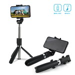 Tripod Bluetooth Selfie Stick X1-Black
