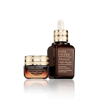 Advanced Night Repair For Face and Eyes - Face Serum + Eye Supercharged Complex