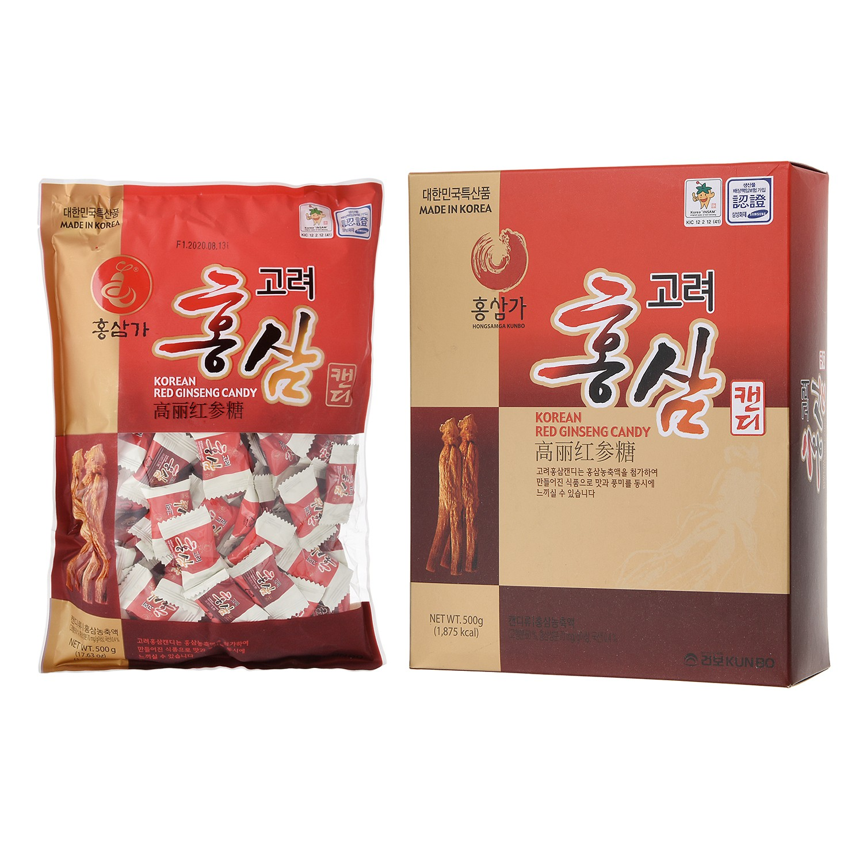 Korean Red Ginseng Candy 500g