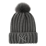 JEWELRY REAL FOX BEANIE New York Yankees