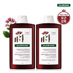 QUININE SHAMPOO 400ml DUO