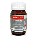 NUTRALIFE VITAMIN D3 1000 IU(60 CAPSULES) / TWO MONTHS