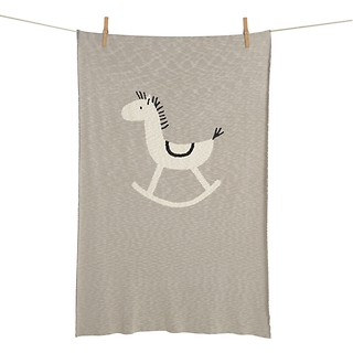 #MIX / Knitted blanket horse L