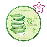 SOOTHING AND MOISTURE ALOE VERA 92 SOOTHING GEL (6PCS)