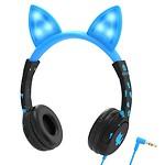 Kids Headphones LED Blue