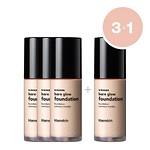 #L20 ROSY / BARE GLOW FOUNDATION 30ml (SPF35/PA++) (3+1)
