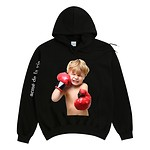 #BLACK / BABY FACE HOODIE BLACK BOXING / 1