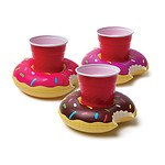 FROSTED DONUT BEVERAGE BOATS (3-PACK)