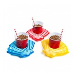 SUMMER SEA SHELL BEVERAGE BOATS (3-PACK)