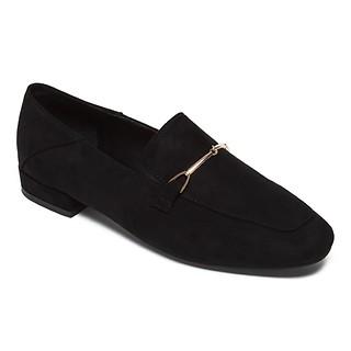 #BLACK / Metal Decorate Loafer(245)