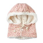 TOREUMI CAPE WITH HOOD #PINK