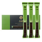 Jeju island green tea chocolate bar