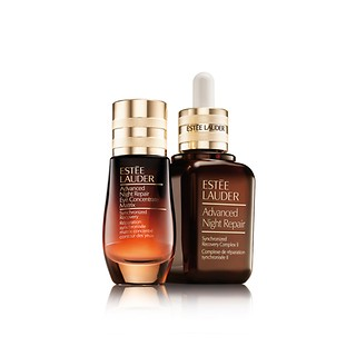 Advanced Night Repair For Face & Eyes Serum + Eye Concentrate Matrix