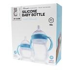 MAMACHI GIFT Baby bottle&handle Blue
