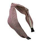#酒红色 / Lattan Hairband