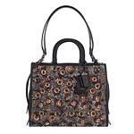Leather Sequins Rogue Bag BP/Black Multi