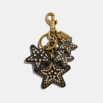 Clustered Stars Bag Charm GD/MULTI
