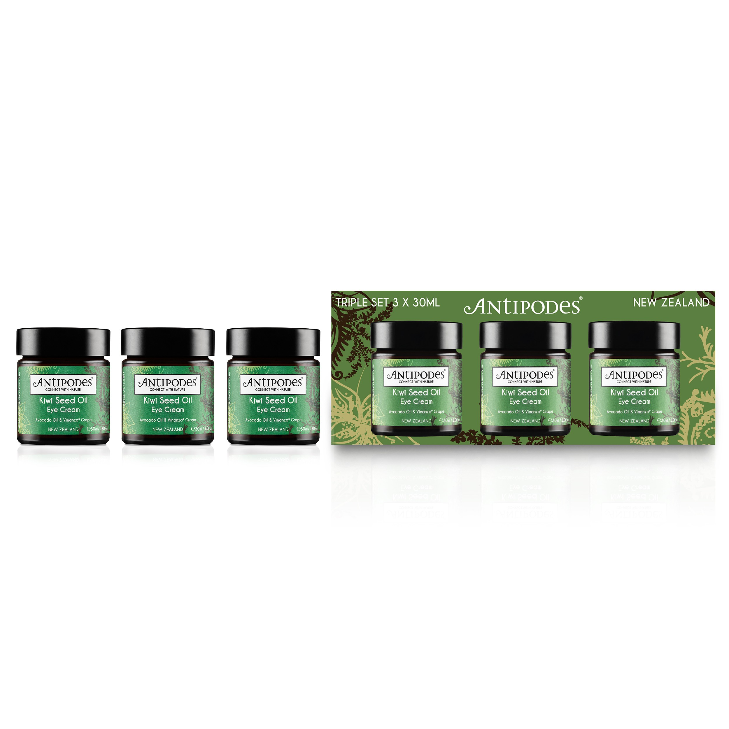 KIWI SEED OIL EYE CREAM TRIPLE PACK