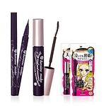 [U] Long & Curl Mascara SWP + Smooth Liquid Eyeliner Super Keep Black