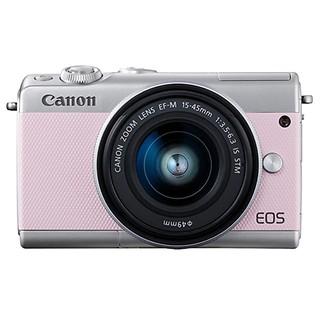 #핑크 EOS M100 15-45