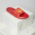 #MEDIUM RED / POOL SANDAL_MEN 43