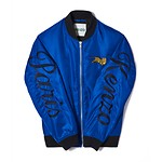 #FRENCH BLUE / JUMPING TIGER CREST BOMBER_MEN S