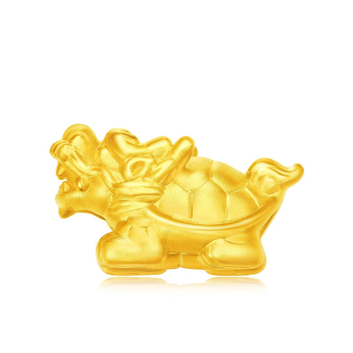 24K Pure Gold Pendant(20607)