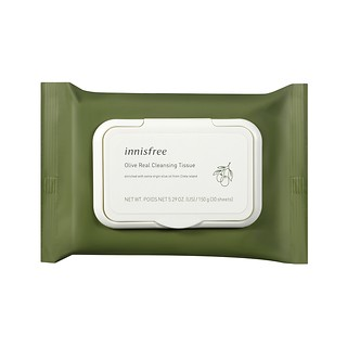 OLIVE REAL CLEANSING TISSUE 30sheets