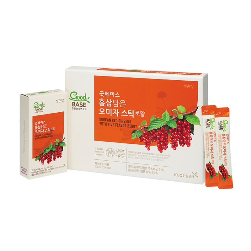 KOREAN RED GINSENG WITH FIVE FLAVOR BERRY