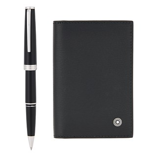 GIFT SET WITH PIX BLACK ROLLERBALL AND 4810 WESTSIDE BUSINESS CARD HOLDER #THE SHILLA EXCLUSIVE