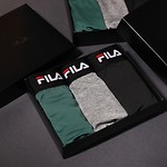 #BLK / FILA LOGO BAND MEN'S DRAWSERS 3 PCS 110