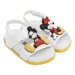 #WHITE&YELLOW / 19FW 32622 Mini Melissa Cosmic Sandal + Disney Twins Bb WT 008