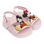 #PINK&WHITE / 19FW 32622 Mini Melissa Cosmic Sandal + Disney Twins Bb PN 010