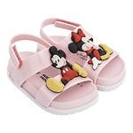 #PINK&WHITE / 19FW 32622 Mini Melissa Cosmic Sandal + Disney Twins Bb PN 012