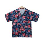 #NAVY / SUMMIT ALOHA SHIRT M/L