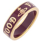 #GOLD/RED / V.WESTWO JEWE CONDUIT STREET RING S