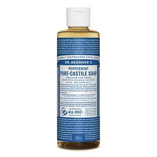 PURE-CASTILE SOAP 240ML - PEPPERMINT