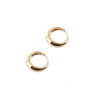 Bold Round Earrings