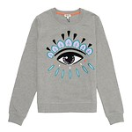 #DOVE GREY / EYE CLASSIC SWEATSHIRT_WOMEN XS (050816004556)