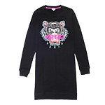 #BLACK / TIGER CLASSIC SWEATSHIRT DRESS_WOMEN XS (050816004614)