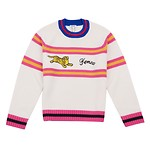 #ECRU / JUMPING TIGER JUMPER_WOMEN M (050816005965)