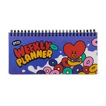BT21 TATA SWEET WEEKLY PLANNER(Purchasable from 2 or more quantities/Displayed price is for 1 quantity)