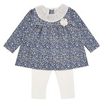 #NY / BLOOMING FLOWER TOP & BOTTOM 90
