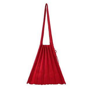 #Barbados Red / Lucky Pleats Knit M