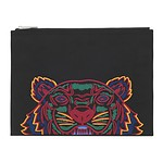 #BLACK / KANVAS TIGER POUCH_MEN TU